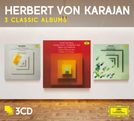 Herbert von Karajan, Berliner Philharmoniker: Herbert von Karajan - 3 Classic Albums Webern, Schoenberg, Berg - CD