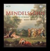 Gewandhaus-Quartett, Sharon Quartet, Amati String Orchestra: Mendelssohn: Complete String Quartets, Quintets, Sextet & Octet - CD