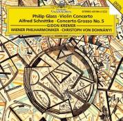 Christoph von Dohnányi, Gidon Kremer, Rainer Keuschnig, Wiener Philharmoniker: Glass: Violin Concerto + Schnittke - CD