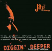 Çeşitli Sanatçılar: Diggin' Deeper Vol.1: The Roots Of Acid Jazz - Plak