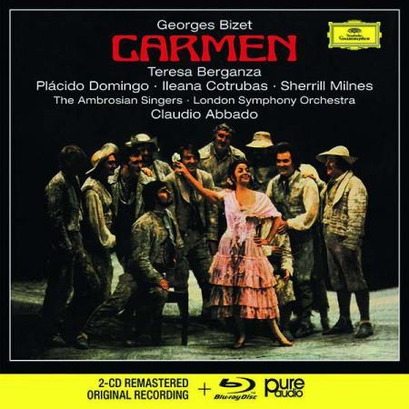 Teresa Berganza, Placido Domingo, London Symphony Orchestra, Claudio Abbado: Bizet: Carmen - CD