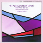 Alsfelder Vokalensemble, Wolfgang Helbich: J.S. Bach: Apocryphal Motets - CD