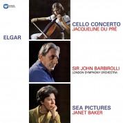 Jacqueline du Pré, Janet Baker, John Barbirolli: Elgar: Cello Concerto, Sea Pictures - Plak