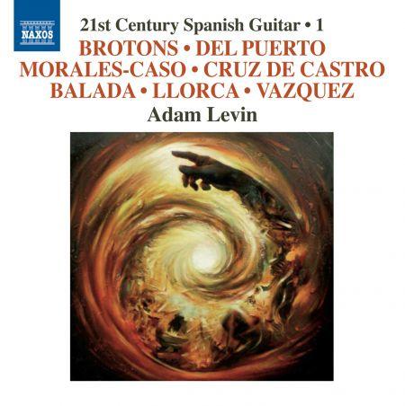 Adam Levin: 21st Century Spanish Guitar, Vol. 1 - CD