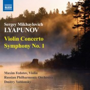 Dmitry Yablonsky: Lyapunov: Violin Concerto - Symphony No. 1 - CD