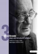 Alfred Brendel: Schubert: Late Piano Works Vol.III - Sonata, D. 894 / Impromptus, D. 899 and D. 935 - DVD