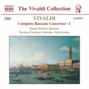 Tamas Benkocs: Vivaldi: Bassoon Concertos (Complete), Vol. 1 - CD