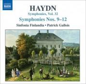 Patrick Gallois: Haydn: Symphonies, Vol. 32 (Nos. 9, 10, 11, 12) - CD