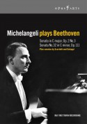 Michelangeli plays Beethoven - DVD