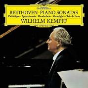 Wilhelm Kempff: Beethoven: Piano Sonata No.8, 14, 23 - Plak