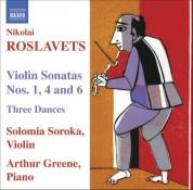 Roslavets: Violin Sonatas Nos. 1, 4 and 6 / 3 Dances - CD