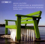 Royal Stockholm Philharmonic Orchestra, Neeme Järvi: Alfvén: The Symphonies & Rhapsodies - CD