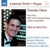 Organ Recital: Timothy Olsen - CD