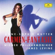 Anne-Sophie Mutter, James Levine, Wiener Philharmoniker: Anne-Sophie Mutter - Carmen Fantasie - Plak