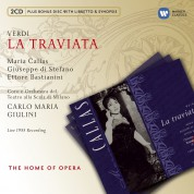Maria Callas, Giuseppe Di Stefano, Ettore Bastianini, La Scala Orchestra, Carlo Maria Giulini: Verdi: La Traviata - CD