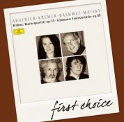 Gidon Kremer, Martha Argerich, Mischa Maisky, Yuri Bashmet: Brahms: Klavierquartett Nr.1 op.25 - CD