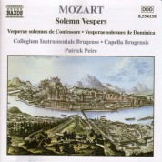 Mozart: Solemn Vespers - CD