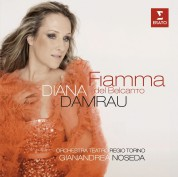Diana Damrau, Orchestra del Teatro Regio di Torino, Gianandrea Noseda: Diana Damrau - Fiamma del Belcanto - CD