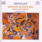 Amici Ensemble: Messiaen: Quartet for the End of Time / Theme and Variations - CD