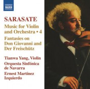 Tianwa Yang: Sarasate: Music for Violin and Orchestra, Vol. 4 - CD