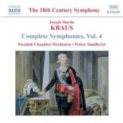 Kraus: Symphonies, Vol.  4 - CD