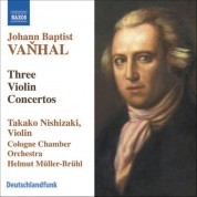 Takako Nishizaki: Vanhal: Violin Concertos in G Major, B-Flat Major, and G Major - CD