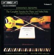 Elisabeth Westenholz, Nils-Erik Sparf: Brahms:  Viola Sonatas - CD