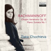 Zlata Chochieva: Chopin Variations and Piano Sonata - CD