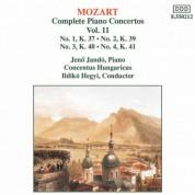 Mozart: Piano Concertos Nos. 1, 2, 3 and 4 - CD