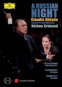 Claudio Abbado, Hélène Grimaud, Lucerne Festival Orchestra: Hélène Grimaud - Russian Night - DVD