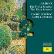 Daniel Barenboim, Pinchas Zukerman: Brahms: The Violin Sonatas - CD