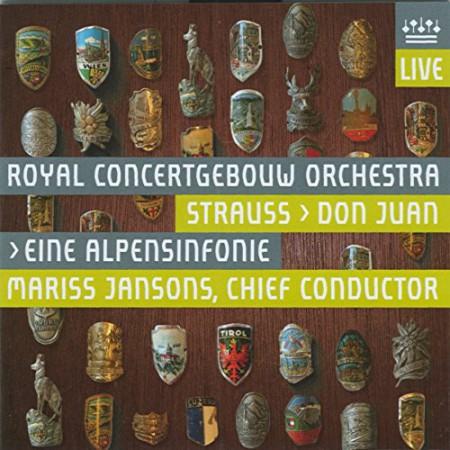 Mariss Jansons, Royal Concertgebouw Orchestra: Strauss: Don Juan Op.20; Eine Alpensinfonie Op.64 - SACD