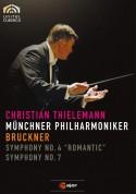 Münchner Philharmoniker, Christian Thielemann: Bruckner: Symphony Nos.4, 7 - DVD