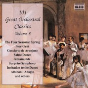 101 Great Orchestral Classics, Vol.  5 - CD