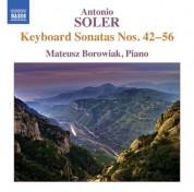 Mateusz Borowiak: Soler: Keyboard Sonatas Nos. 42-56 - CD