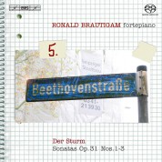 Ronald Brautigam: Beethoven: Complete Works for Solo Piano, Vol. 5 on forte-piano - SACD