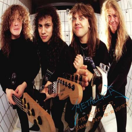 Metallica: The $5.98 E.P. Garage Days Re-Revisited - Single Plak