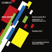 Cape Philharmonic Orchestra, Owain Arwel Hughes, Sharon Bezaly: Schnittke: Concerto Grosso No.1, Sym. No.9 - CD