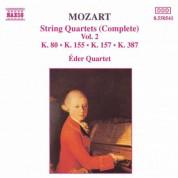 Mozart: String Quartets, K. 80, K. 155, K. 157 and K. 387 - CD