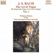 Wolfgang Rübsam: J.S. Bach: The Art of Fugue Vol. 1 - CD