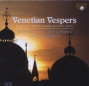 Gabrieli Consort, Paul McCreesh: Venetian Vespers (5 CD) - CD