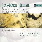 Les Talens Lyriques, Christophe Rousset: Leclair: Ouvertures Et Sonatas En Trio - CD