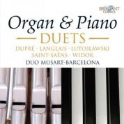 Duo MusArt: Organ and Piano Duets (Saint-Saens, Dupré, Lutoslawski) - CD