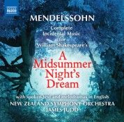 James Judd: Mendelssohn: A Midsummer Night's Dream - CD