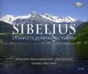 Elizaveta Zuyeva, Maria Jygeva, State Academic Symphonic Orchestra Moscow, Vassily Sinaisky: Sibelius: Complete Symphonic Poems - CD