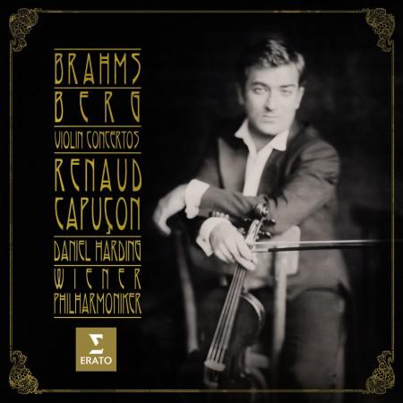 Renaud Capuçon, Daniel Harding: Brahms/ Berg: Violin Concertos - CD
