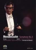 Christoph von Dohnányi, Vienna Philharmonic Orchestra, Rudolf Buchbinder: Mendelssohn: Symphony No.3 / Bartok: The Miraculous Mandarin Suite / Strauss: Burleske - DVD
