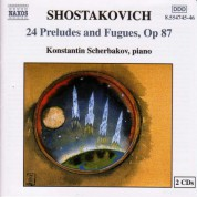 Shostakovich: 24 Preludes and Fugues, Op. 87 - CD