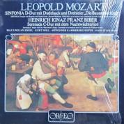 Kurt Moll, Münchener Kammerorchester, Hans Stadlmair: Leopold Mozart: Sinfonia D-dur mit Dudelsack & Drehleier/ Biber: Serenade - Plak