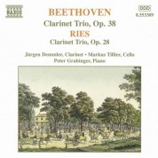 Beethoven / Ries: Clarinet Trios - CD